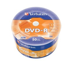 NEO DVD VERBATIM 50/SET DVD -R 4.7GB