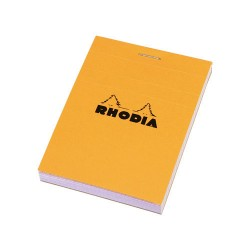 RH BLOC NOTES A7 80F AR ORANGE N11 RHODIA 11200C