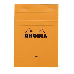 RH BLOC NOTES A6 DR ORANGE N13 RHODIA 13600C