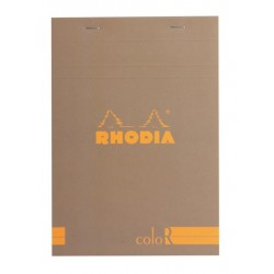 RH BLOC NOTES 14.8*21CM 70F 90GR CREM RHODIA COLOR PAD 16964C