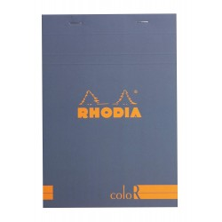 RH BLOC NOTES 14.8*21CM 70F 90GR DR SAFIR RHODIA COLOR PAD 16968C
