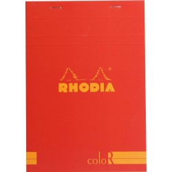 RH BLOC NOTES 14.8*21CM 70F 90GR DR POPPY RHODIA 16973C