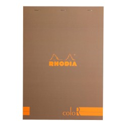 RH BLOC NOTES A4 70F 90GR DR CREM RHODIA COLOR PAD 18964C