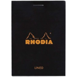 RH BLOC NOTES A7 80F DR BLACK N11 RHODIA 116009EXPC