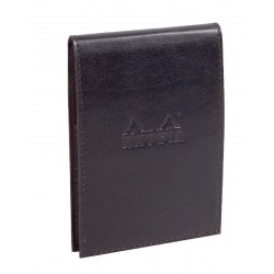 RH PORT PIELE+NOTES 9.5*13 80F AR BLACK ePURE RHODIA 118129C