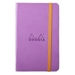 RH NOTES CU ELASTIC A6 96F VELIN LILIAC RHODIA 118631C