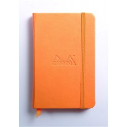 RH NOTES CU ELASTIC A6 96F VELIN ORANGE RHODIA 118635C