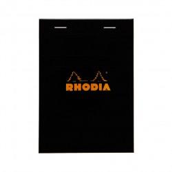 RH BLOC NOTES A6 80F AR BLACK N13 RHODIA 132009C