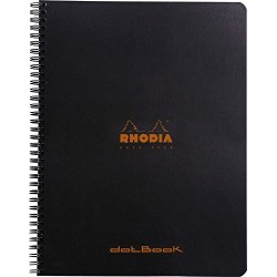 RH NOTES A4 RHODIA 80F SPIRA DOT PAD 193039C