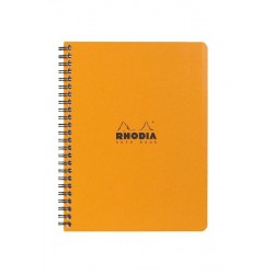 RH BLOC NOTES SPIRA A5 80F AR ORANGE RHODIA 193428C