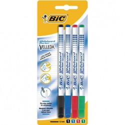 LEC MARKER BIC WHITEBOARD 4/SET VF SUBTIRE 875711