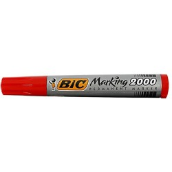 LEC MARKER BIC 2000 ROSU VARF ROTUND BC820913