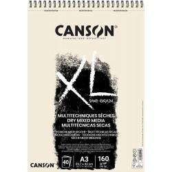 PR BLOC SCHITE A3 CANSON XL MIX MEDIA 40FILE 160GR/M2