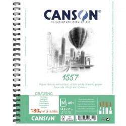 Pr Bloc Schite Canson 1557 A5 Spira 180gr 30 File 31412a008