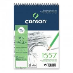 PR BLOC SCHITE CANSON 1557 A4 50F 120G/M2 082