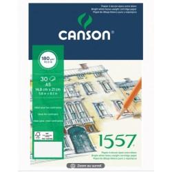 PR BLOC SCHITE CANSON 1557 A5 30F 180GR/M2 136