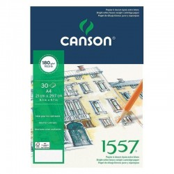PR BLOC SCHITE CANSON 1557 A4 180G/30F 143