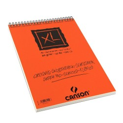 PR BLOC SCHITE CANSON XL SPIRA A3 120F 90GR/M2 155