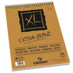 PR BLOC SCHITE CANSON XL Extra Blank A3 90 gr/m2 120 foi cu spira 875016