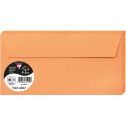 PLIC CLAIREFONTAINE DL 20/SET ORANGE 5495C