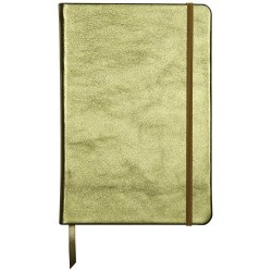 CF NOTES A5 144F COPERTA PIELE SI ELASTIC VERDE CLAIREFONTAINE 400101C