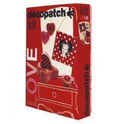 CF SET DECOPATCH LOVE PAPIER MACHE KIT014O
