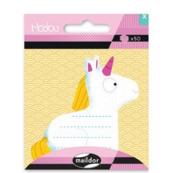CF POST IT MODOU 7.5*11CM MI042C UNICORN