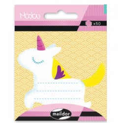 CF POST IT MODOU 7.5*11CM MI043C UNICORN