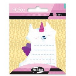 CF POST IT MODOU 7.5*11CM MI046C PISICA UNICORN