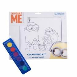 Ser Kit De Colorat A4 Minions 31002