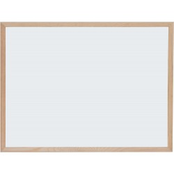 EU WHITEBOARD MAGNETIC 90*120 CM RAMA LEMN OPTIMA 22366