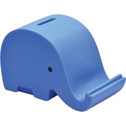Eu Pusculita Plastic Elefant 13.7*7*8.6cm Albastru 73721mo
