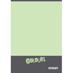 EU CAIET A4 52F STREET COLOURS VELIN 65842