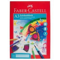 Lec Bloc Desen Faber-castell A3 20f 100g Fc212048