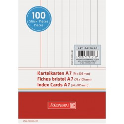 BR INDEX CARD A7 100/SET DR 2270100 ALB