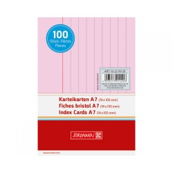 BR INDEX CARD A7 100/SET DR 2270120 ROSU