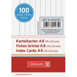 BR INDEX CARD A8 100/SET DR 2282200 ALB