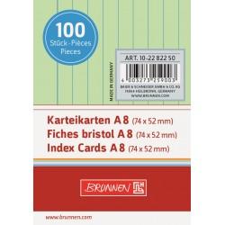 BR INDEX CARD A8 100/SET DR 2282250 VERDE