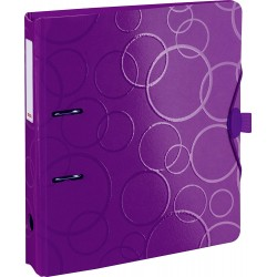 BR BIBLIORAFT A4 5 CM PP PURPLE COLOR CODE 2042560