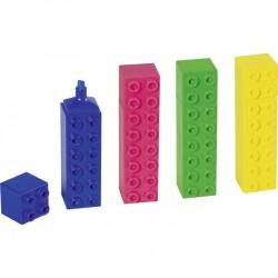 BR TEXTMARKER LEGO DIVERSE CULORI BRUNNEN 27369