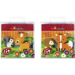 BR RADIERA ANIMALE DIVERSE FUN 2/SET 27379