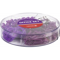 BR SET OFFICE 220 PIESE PURPLE COLOR CODE 2064760