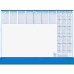Br Planner Birou Cu Clapeta 50 File 56.5*42cm Albastru 98207001