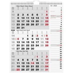 Br Calendar Perete 2022 Triptic Kombi 30*39cm 33330002