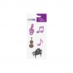 KP STICKER TEXTILE MUSIC 3782800