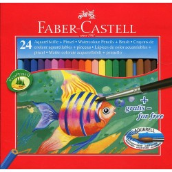 LEC CREIOANE COLOR FABER 24/SET FC114425 AQUARELL