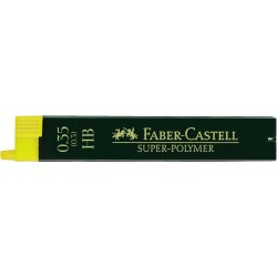 LEC MINA CREION FABER-CASTELL 0.35MM HB 12/SET FC120300