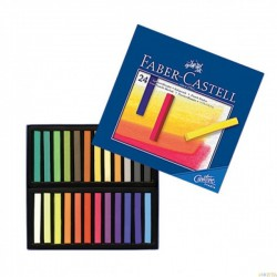 LEC PASTELURI CRETATE SOFT 24/SET FABER-CASTELL FC128324
