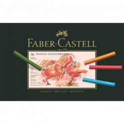 LEC PASTELURI CRETATE POLYCHROMOS 36/SET FABER-CASTELL FC128536