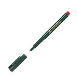 LEC FINELINER FABER FC151121 ROSU 0.4MM